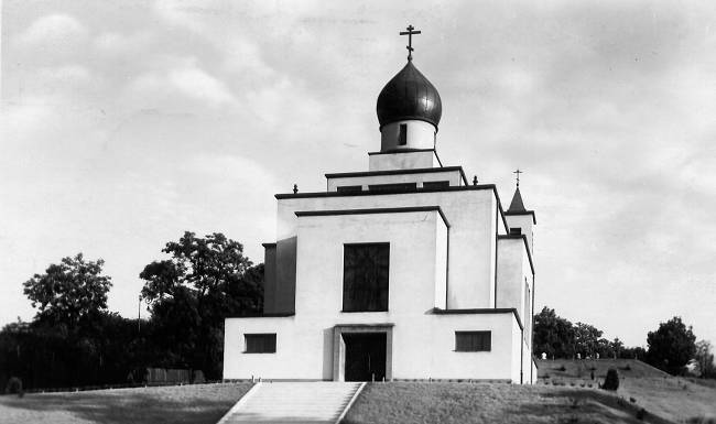 Chrám po dokončení v r. 1931